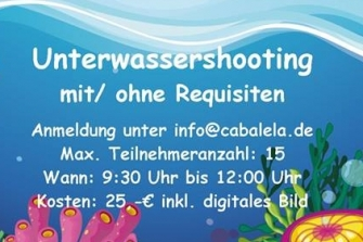Unterwassershooting am Kindertag